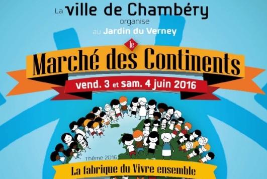 Marché des continents 4 juin 2016