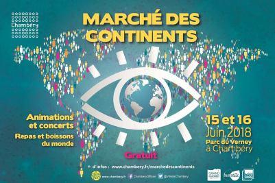 Marché des continents – 16/06