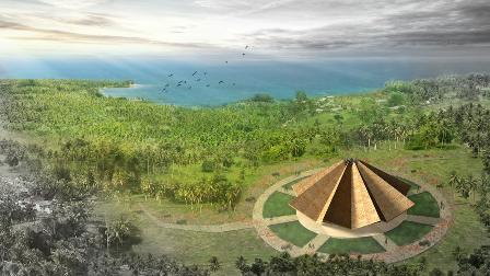 Projet du temple du Vanuatu