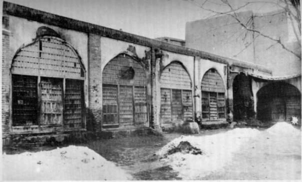 Place de Tabriz où fut fusillé le Bab