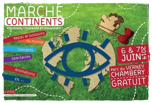 Marché des continents 2014