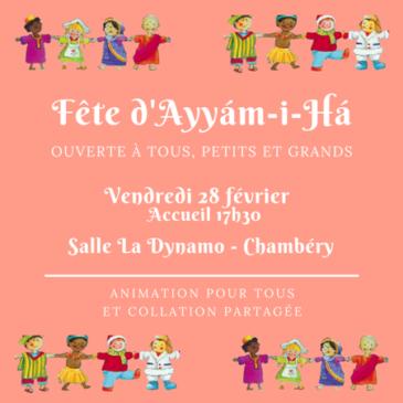 Fete d'Ayyám-i-Há – 28/02