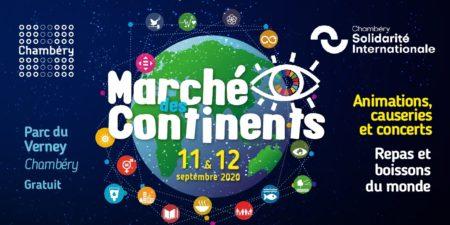 Marché des continents – 12 septembre 2020