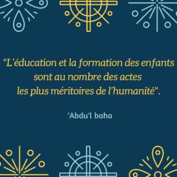 Soirée partage autour de l'éducation