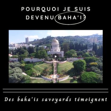 Des baha'is savoyards témoignent