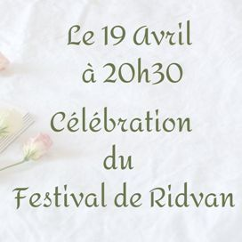 Fête de Ridvan